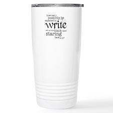 How Can I Write? Travel Mug