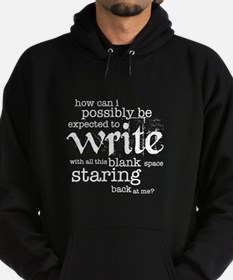 How Can I Write? Hoodie