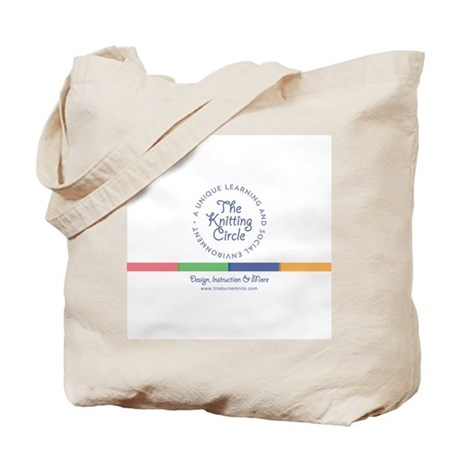 Knitting Circle Tote Bag