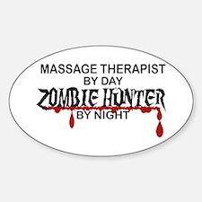 Zombie Hunter - Massage Therapist Decal