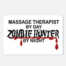 Zombie Hunter - Massage T Postcards (Package of 8)