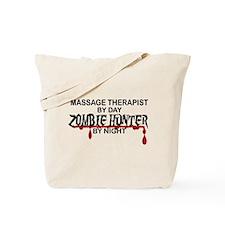 Zombie Hunter - Massage Therapist Tote Bag