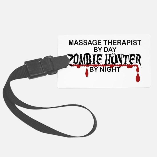 Zombie Hunter - Massage Therapis Luggage Tag