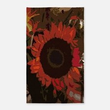 Art Of Flowers 3'x5' Area Rug