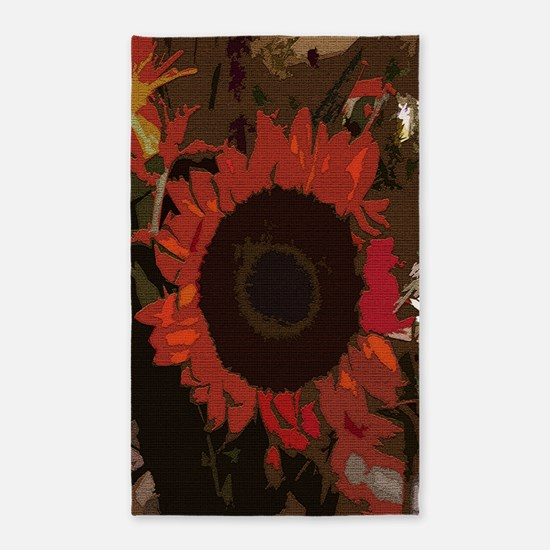 Art Of Flowers 3'x5' Area Rug