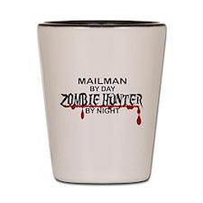 Zombie Hunter - Mailman Shot Glass