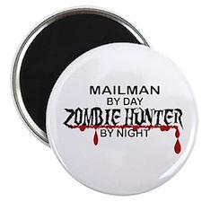 Zombie Hunter - Mailman Magnet