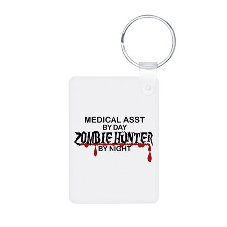Zombie Hunter - Medical As Aluminum Photo Keychain