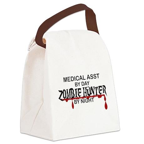 Zombie Hunter - Medical Asst Canvas Lunch Bag
