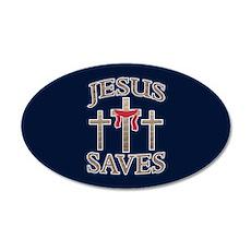 Jesus Saves Wall Decal