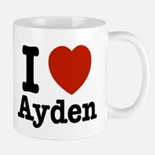 I love Ayden Mug