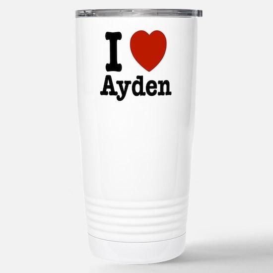 I love Ayden Stainless Steel Travel Mug