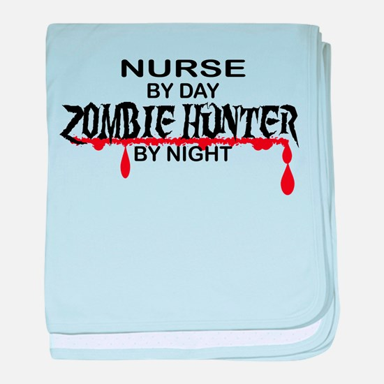 Zombie Hunter - Nurse baby blanket