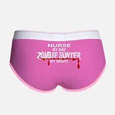 Zombie Hunter - Nurse Women's Boy Brief
