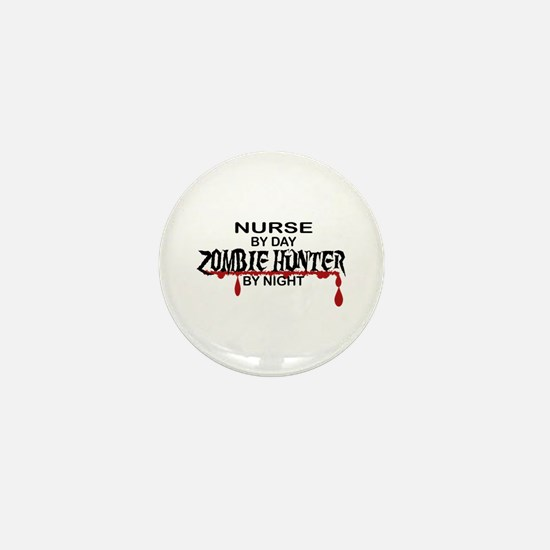 Zombie Hunter - Nurse Mini Button