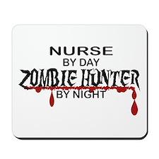 Zombie Hunter - Nurse Mousepad