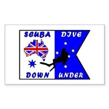 Scuba Dive Australia Original Design Decal