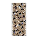 Boston terrier Beach Towels