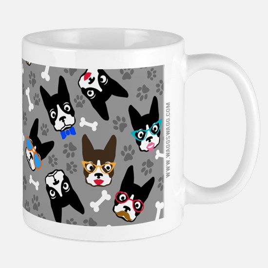 cute boston terrier dog Mug