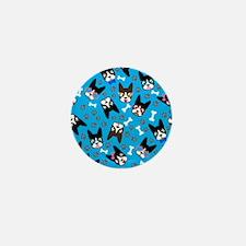 cute boston terrier dog Mini Button (10 pack)