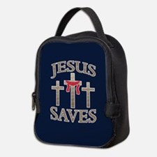 Jesus Saves Neoprene Lunch Bag