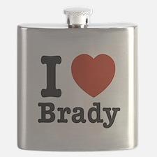 I love Brady Flask