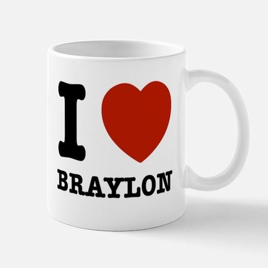 I love Braxton Mug