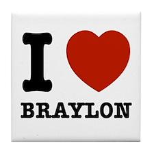 I love Braxton Tile Coaster