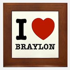 I love Braxton Framed Tile