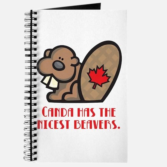 Canada Nicest Beavers Journal