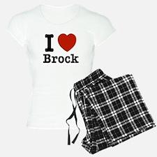 I love Brock Pajamas