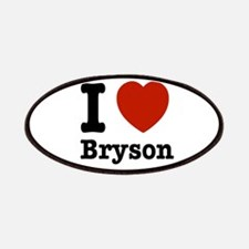 I love Bryson Patches