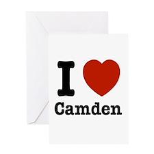 I love Camden Greeting Card