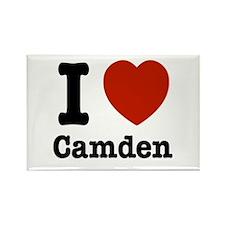 I love Camden Rectangle Magnet