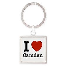 I love Camden Square Keychain