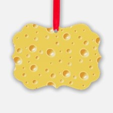 Swiss Cheese texture Ornament