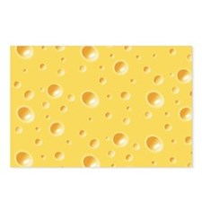 Swiss Cheese texture Postcards (Package of 8)