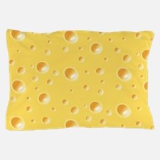 Swiss Cheese texture Pillow Case