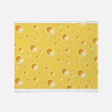 Swiss Cheese texture Throw Blanket