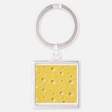 Swiss Cheese texture Keychains