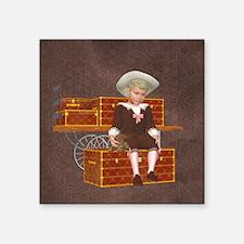 Vintage boy 2 Sticker