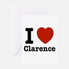 I love Clarence Greeting Card