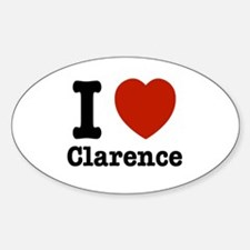 I love Clarence Decal