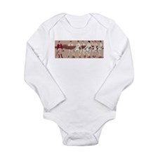 Vintage Cornell's Eigh Long Sleeve Infant Bodysuit