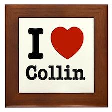 I love Collin Framed Tile