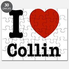 I love Collin Puzzle