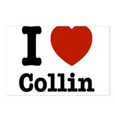 I love Collin Postcards (Package of 8)
