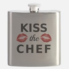 kiss the chef with red lips Flask