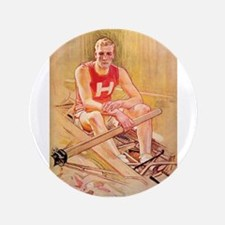"Vintage Rowing Portrait 3.5"" Button"