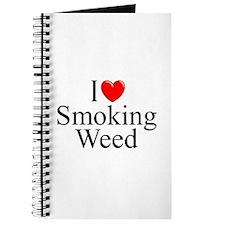 """I Love (Heart) Smoking Weed"" Journal"
